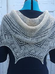 lacewight shawl